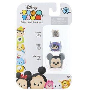 Disney Tsum Tsum Series 2 Mickey Mouse, Hiro, Sven